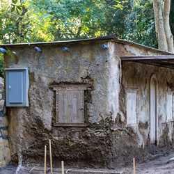 New building construction at Kilimanjaro Safaris - October 9 2020