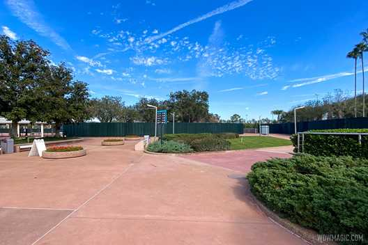 PHOTOS - Construction underway on new Leave a Legacy at EPCOT