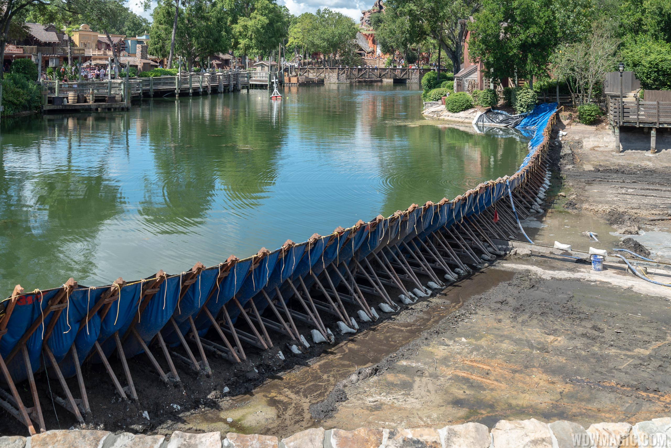 Rivers of America drained