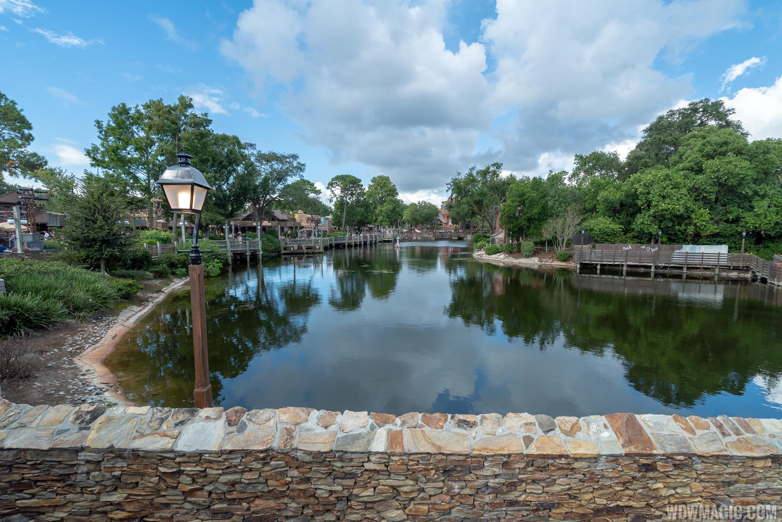 Rivers of America refilled after refurbishment