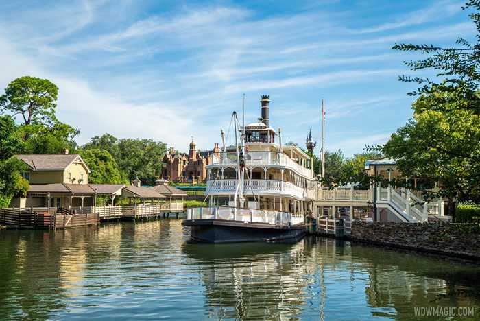 Liberty Square Riverboat overview