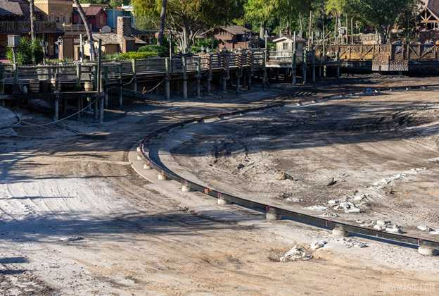 Rivers of America refurbishment - December 2 2020