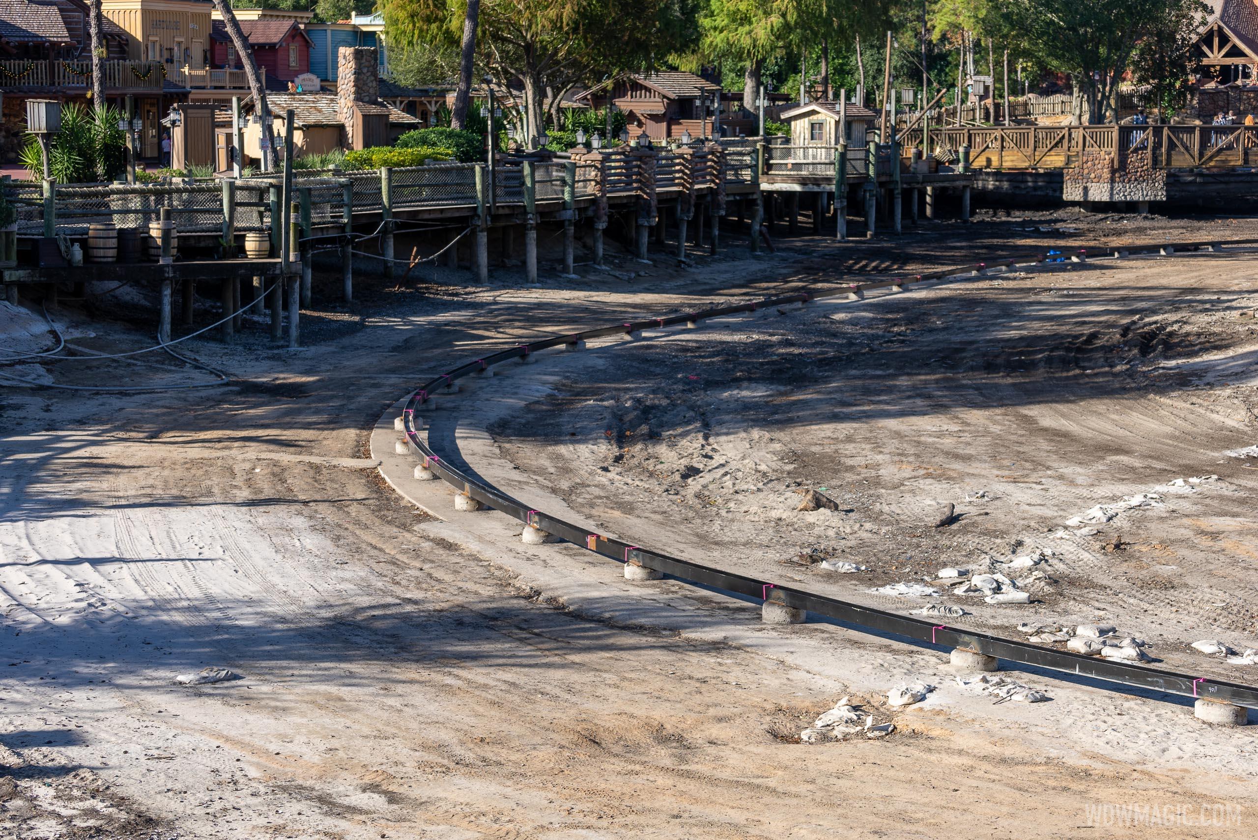 Rivers of America refurbishment - December 2 2020