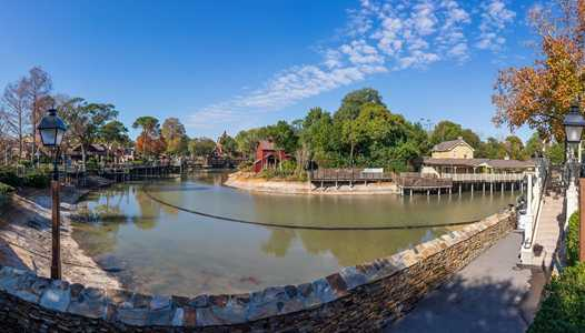 PHOTOS - Water returns to the Rivers of America as refurbishment nears completion