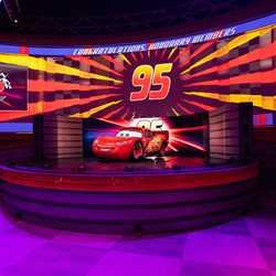 Lightning McQueen's Racing Academy show