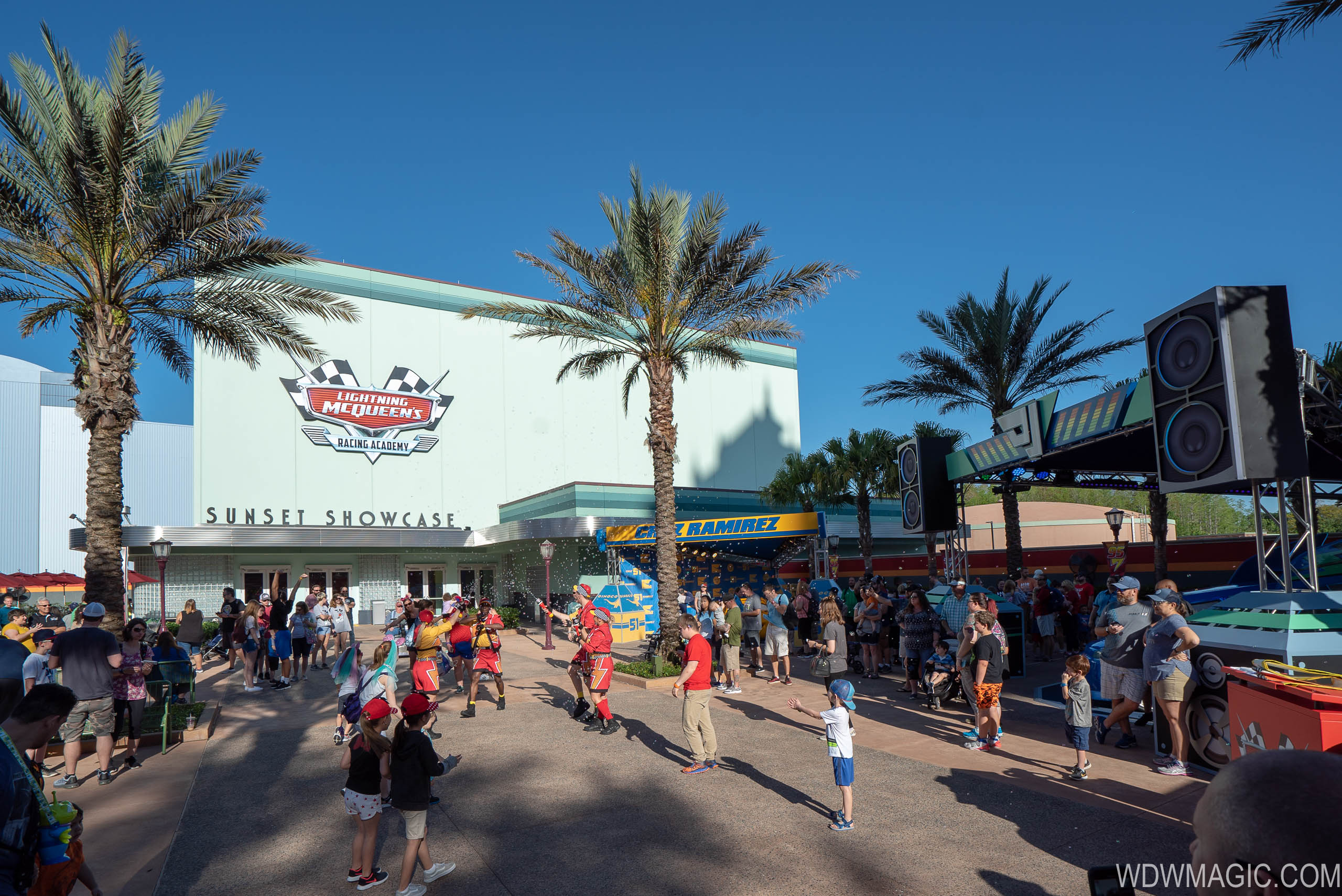 Photos Lightning Mcqueen S Racing Academy Now Open At Disney S Hollywood Studios