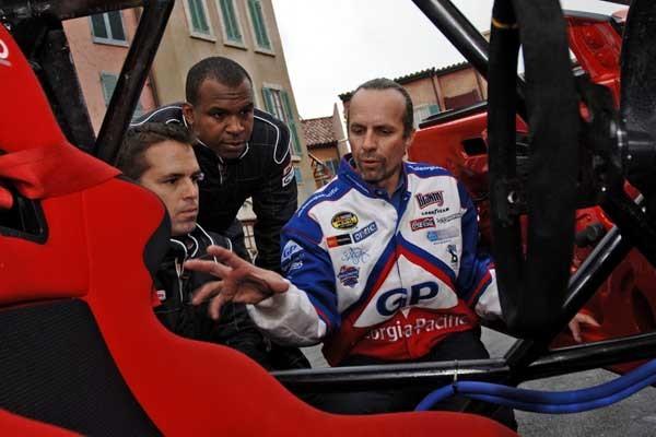 NASCAR driver Kyle Petty at Lights, Motors, Action