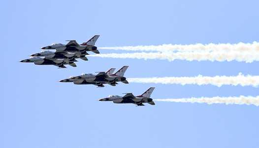 U.S. Air Force Thunderbirds to flyover Walt Disney World