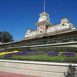 New railings at the Main Entrance