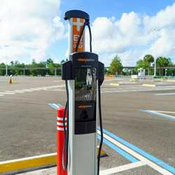 Magic Kingdom TTC Electric Vehicle Chargers