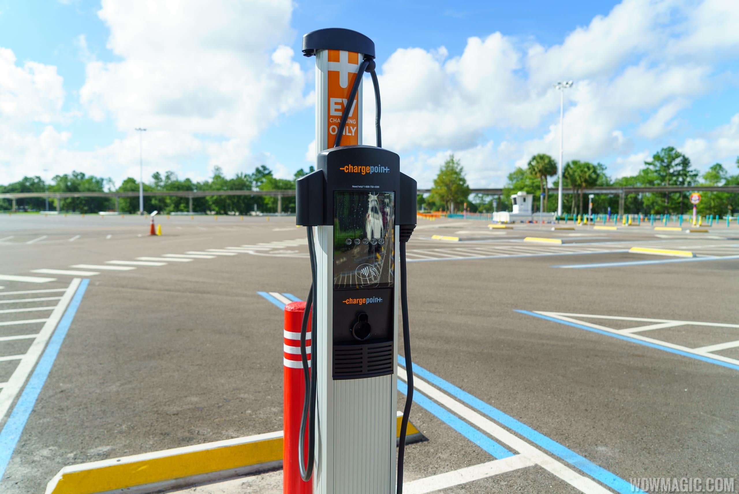 Magic Kingdom TTC Electric Vehicle Chargers