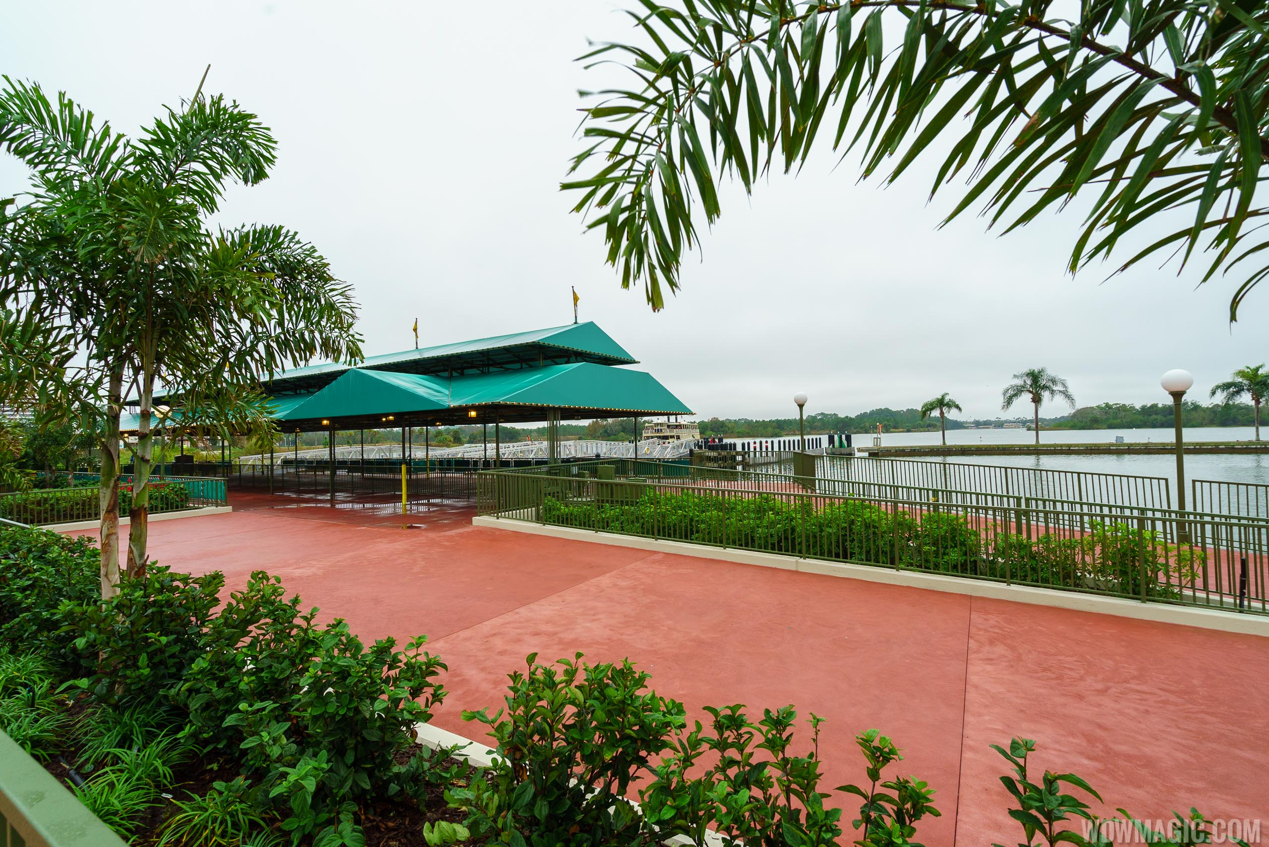 The Ferryboat dock area