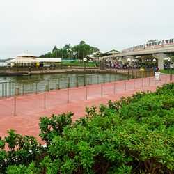 New Magic Kingdom Ferry dock area