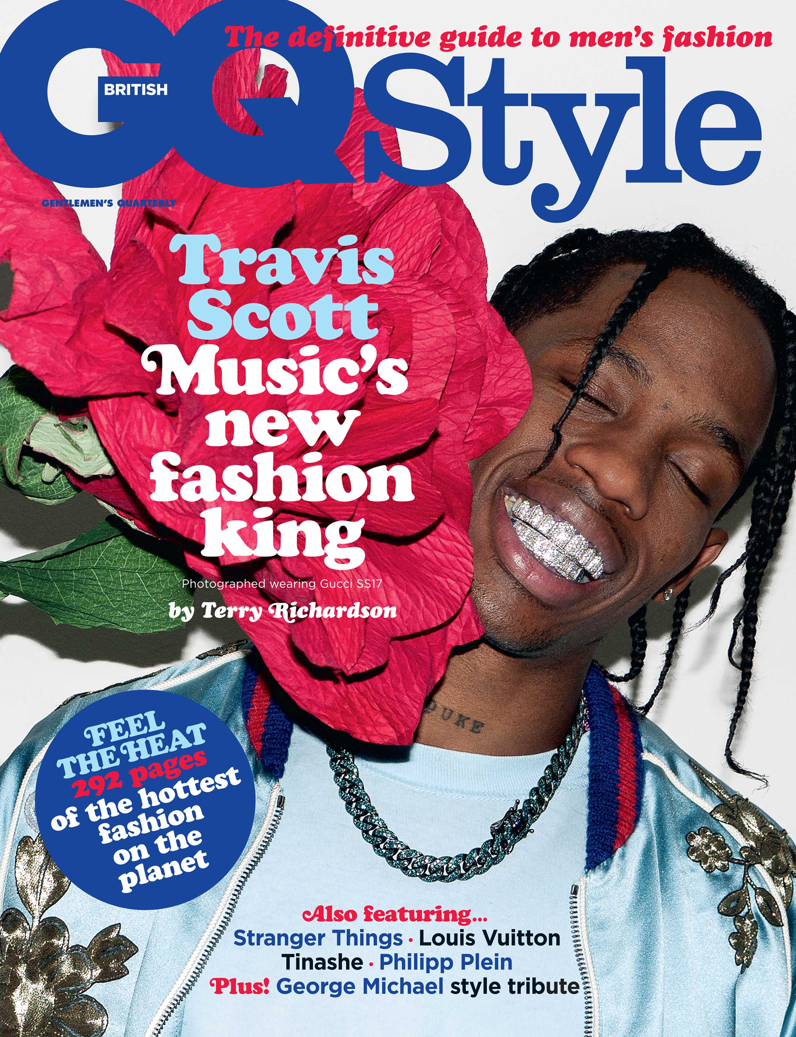 Cover of the spring summer issue of British GQ Style
