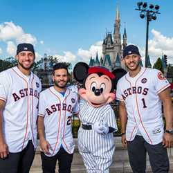 Houston Atros at the Magic Kingdom