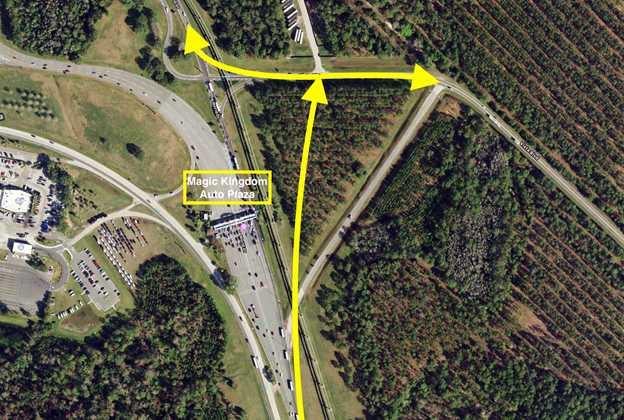 World Drive Auto Plaza Bypass Ramp