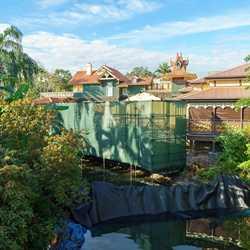 Club 33 location under construction in Adventureland at the Magic Kingdom