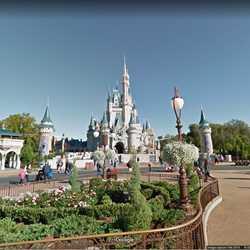 Google Maps Street View of Magic Kingdom