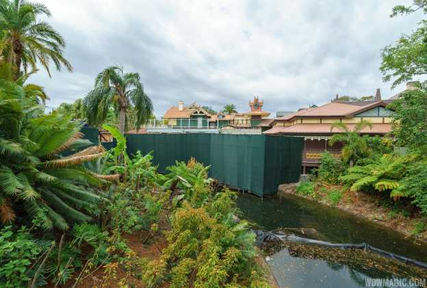 Club 33 location under construction in Adventureland at the Magic Kingdom