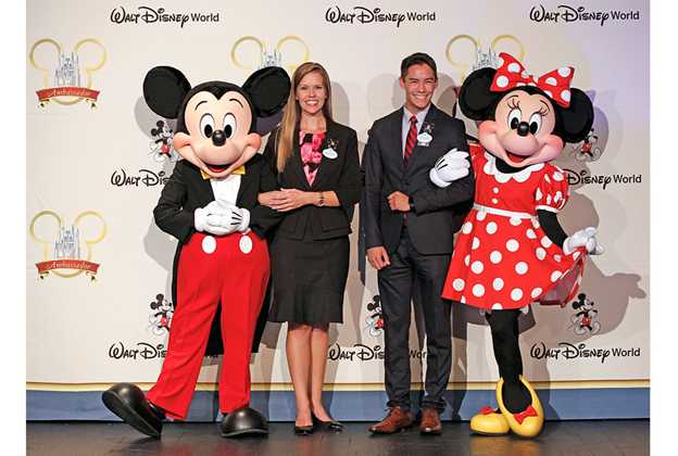 2019 - 2020 Walt Disney World Ambassadors - Marilyn West and Stephen Lim
