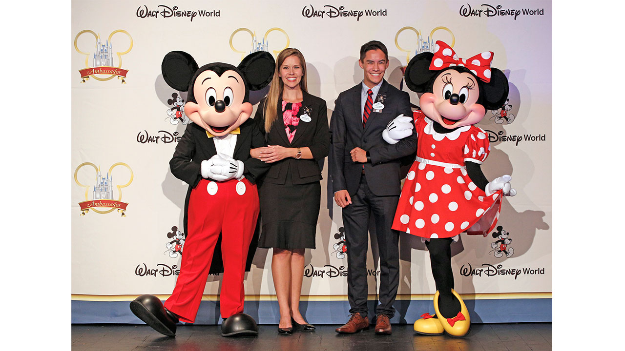 2019 - 2020 Walt Disney World Ambassadors - Marilyn West and Stephen Lim