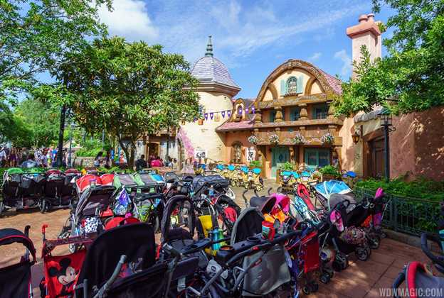 Strollers at the Magic Kingdom