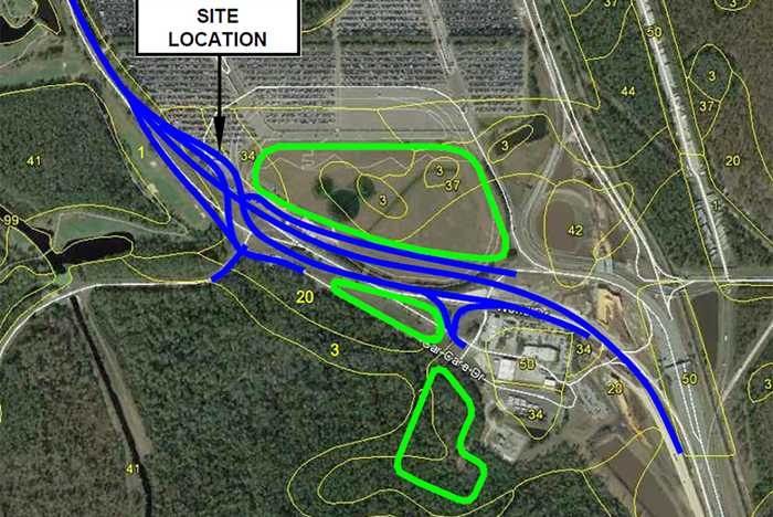 Phase 2 extension and realignment of World Drive