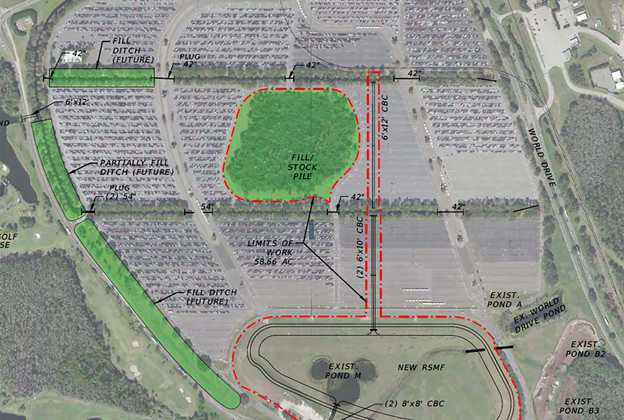 TTC Parking Lot expansion plans