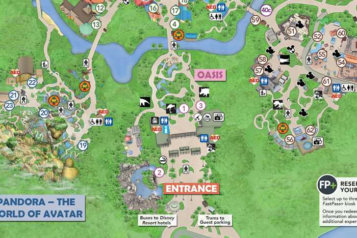 Walt Disney World theme park smoking locations - May 1 2019