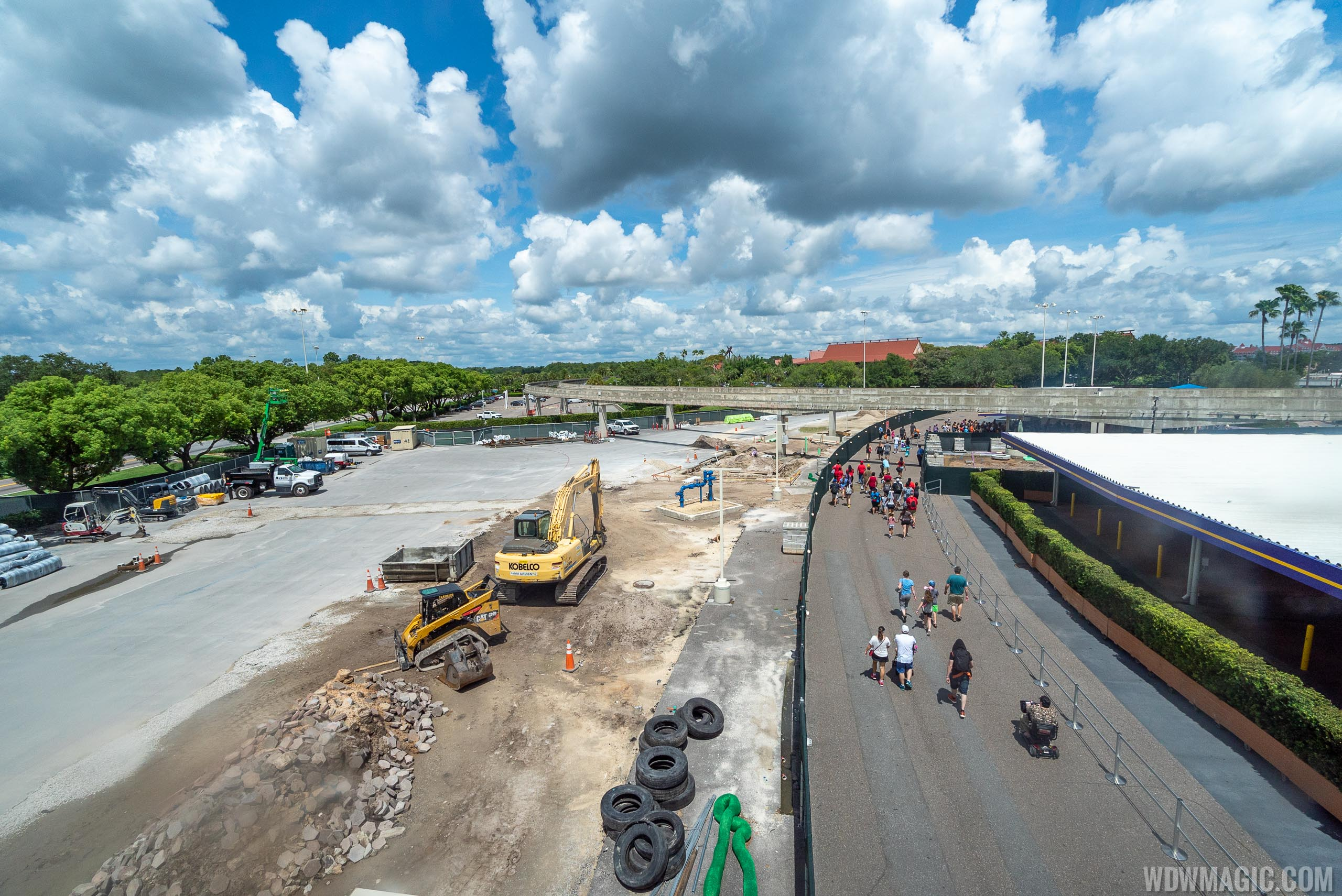 Transportation and Ticket Center refurbishment - July 2019