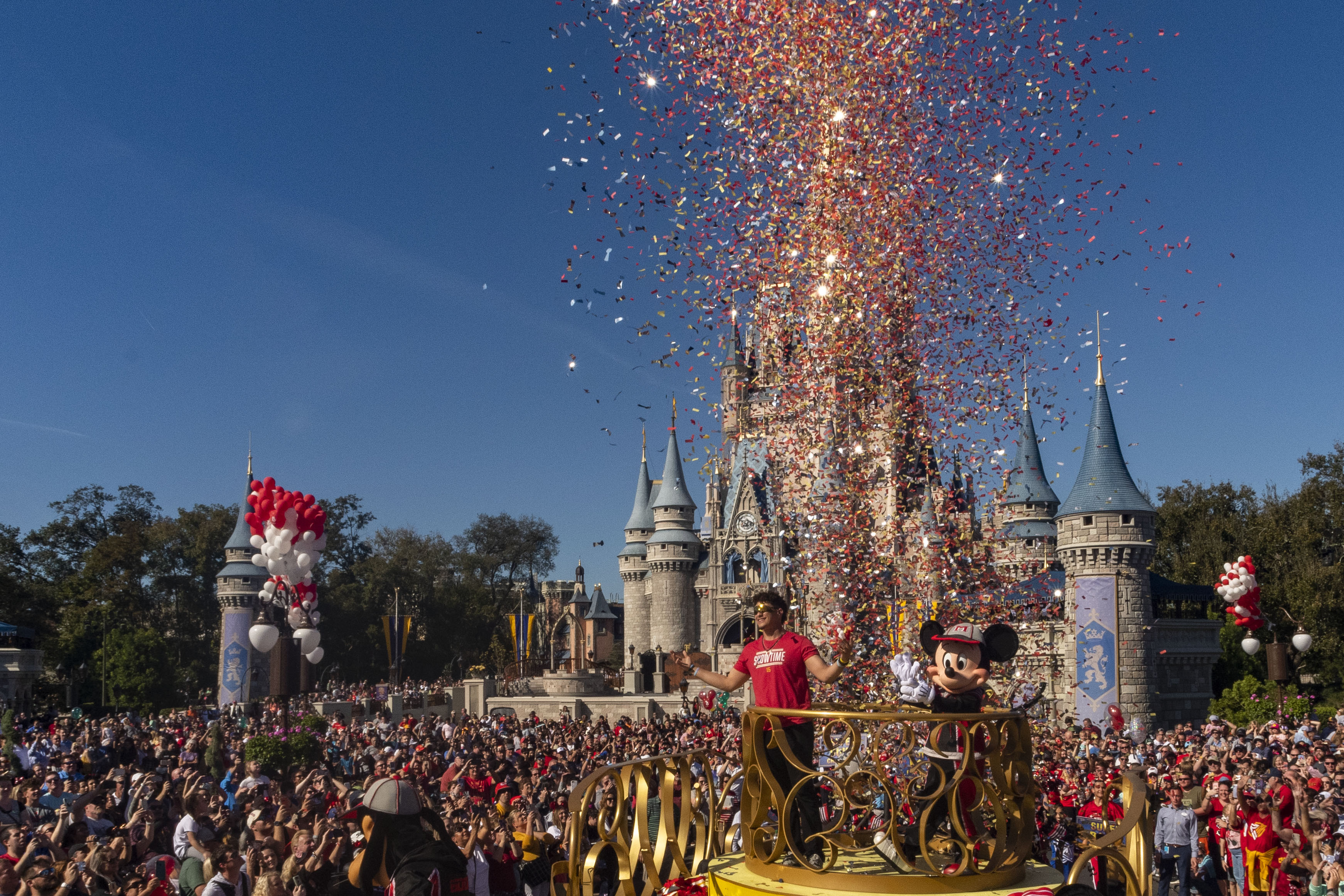 Super Bowl MVP Patrick Mahomes Victory Parade at Walt Disney World Resort