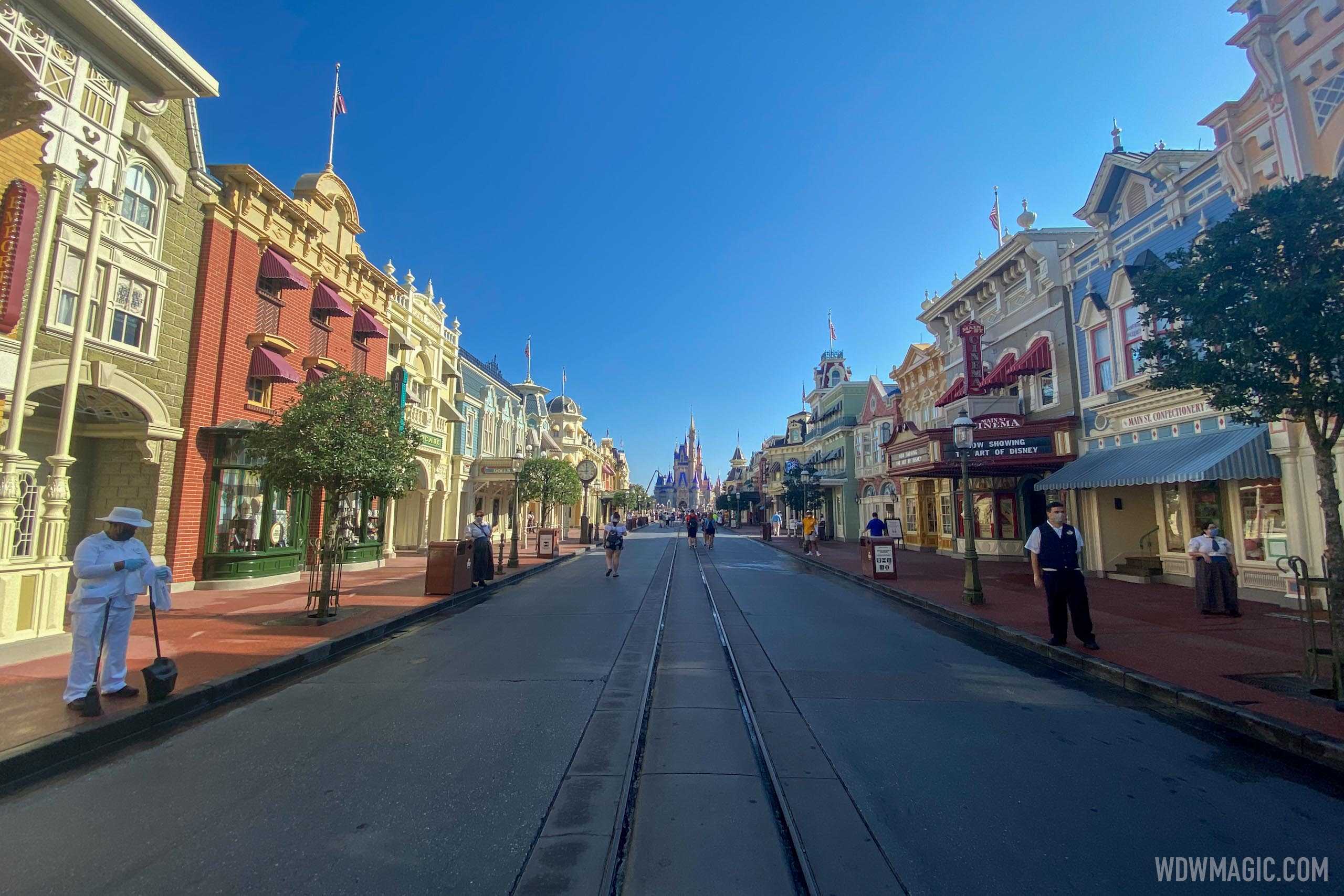 Magic Kingdom reopening from COVID-19 closure