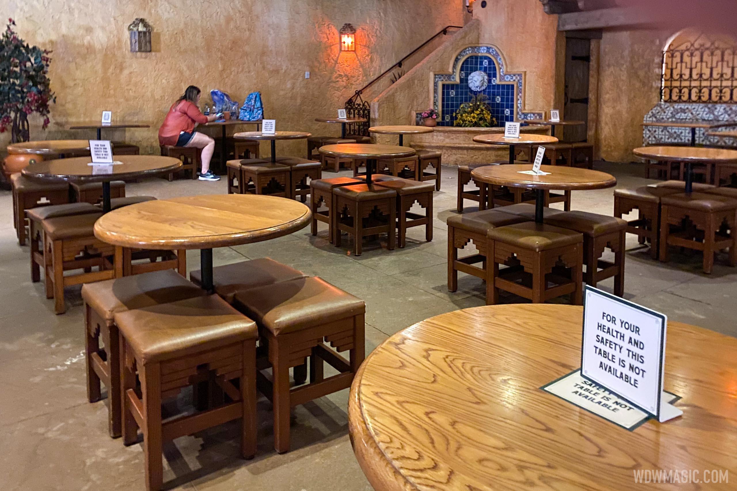 Pecos Bill dining room