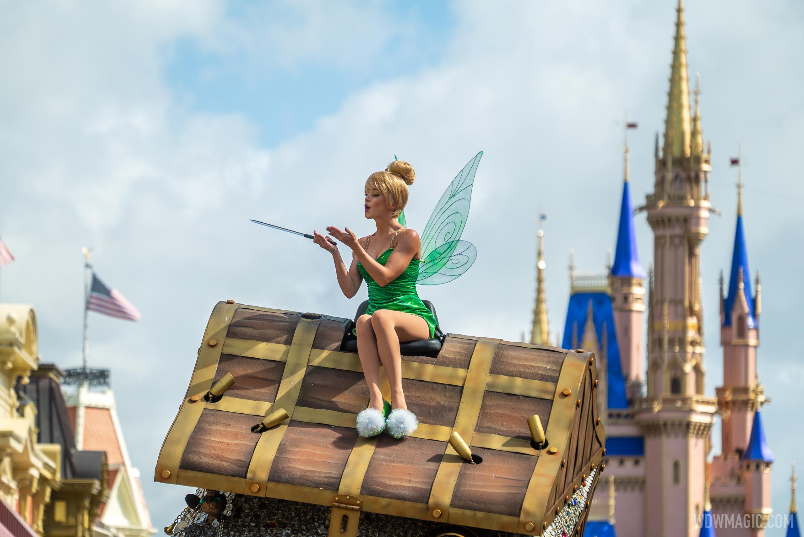 Tinker Bell cavalcade