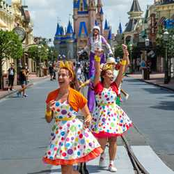 Magic Kingdom entertainment during COVID-19 phased reopening