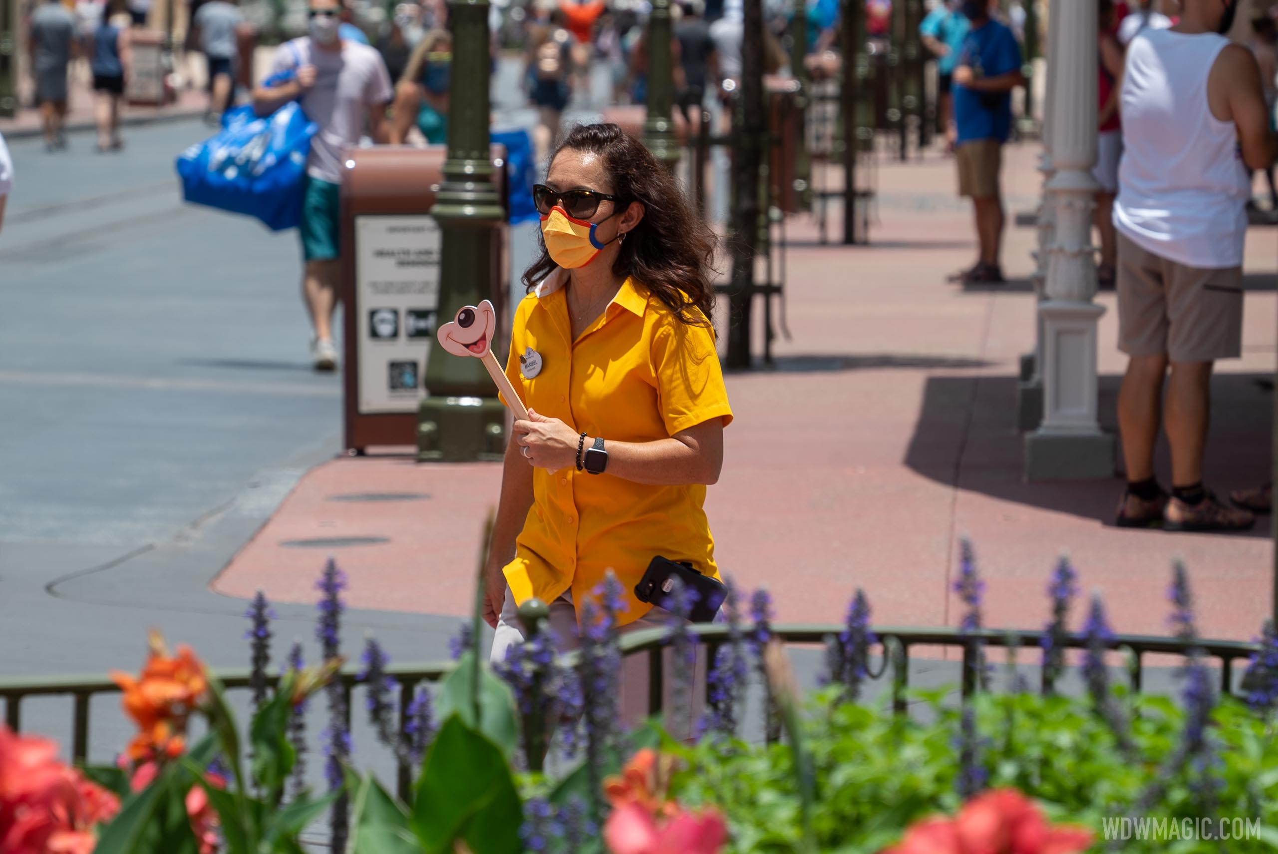Special teams of Cast Members enforce mask use at Magic Kingdom