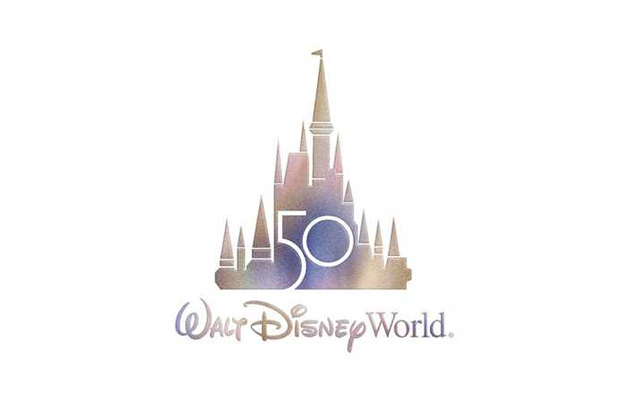 Walt Disney World 50th logo