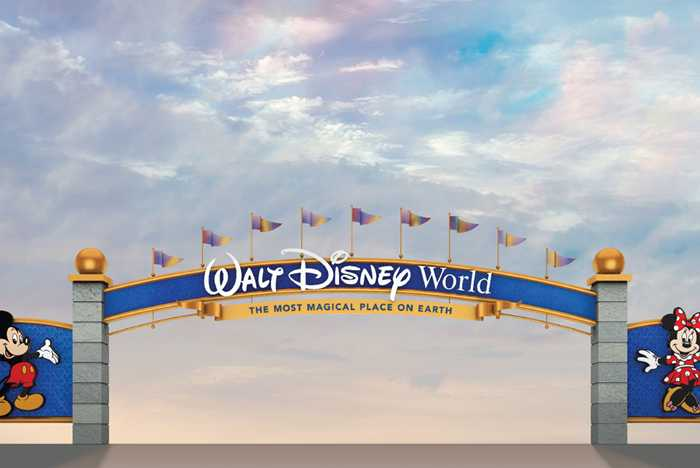 Walt Disney World 2020 entrance redesign concept art