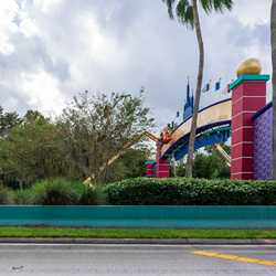 Walt Disney World Western Way Gateway refurbishment - October 27 2020