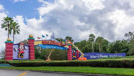 PHOTOS - Work gets underway on the new look Walt Disney World gateways