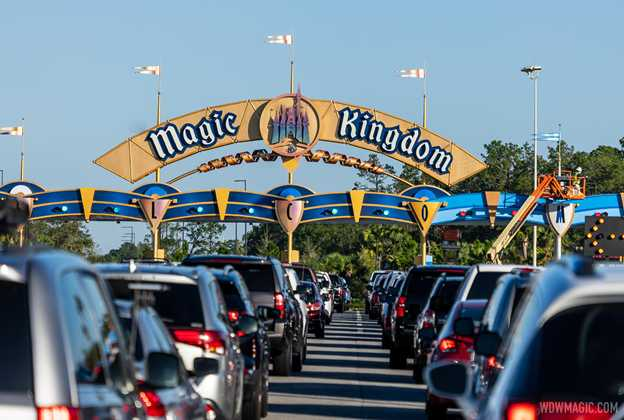 Magic Kingdom auto-plaza refurbishment - November 2 2020