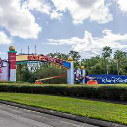 Walt Disney World Western Way Gateway refurbishment - November 5 2020