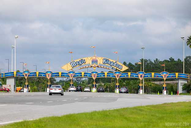 Completed new look Magic Kingdom auto-plaza