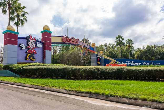 Walt Disney World Western Way Gateway refurbishment - November 16 2020