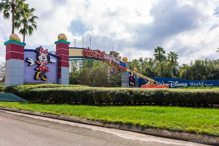 Walt Disney World Western Way Gateway refurbishment - November 16 2020