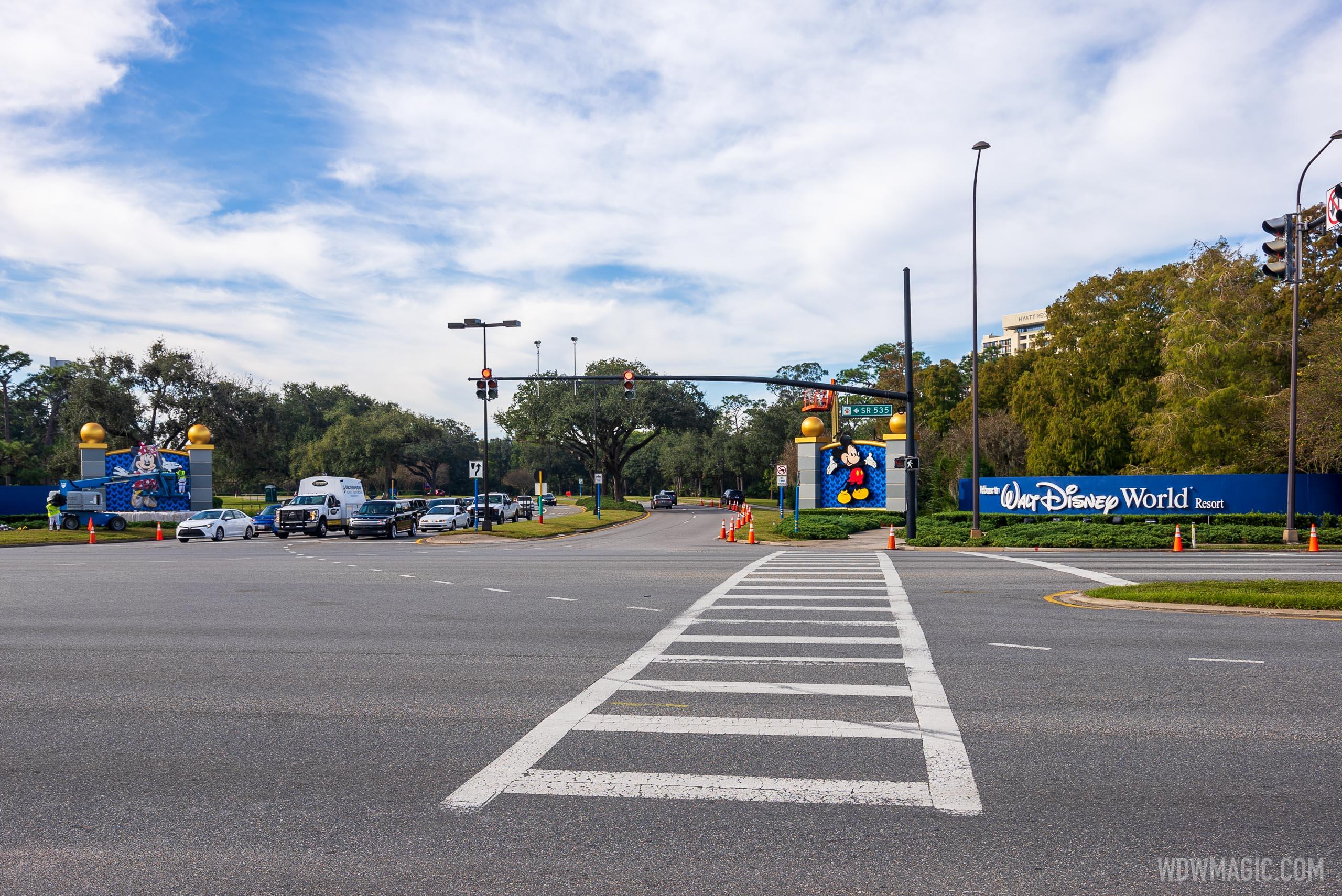 Vineland Road Gateway entrance refurbishment- December 10 2020