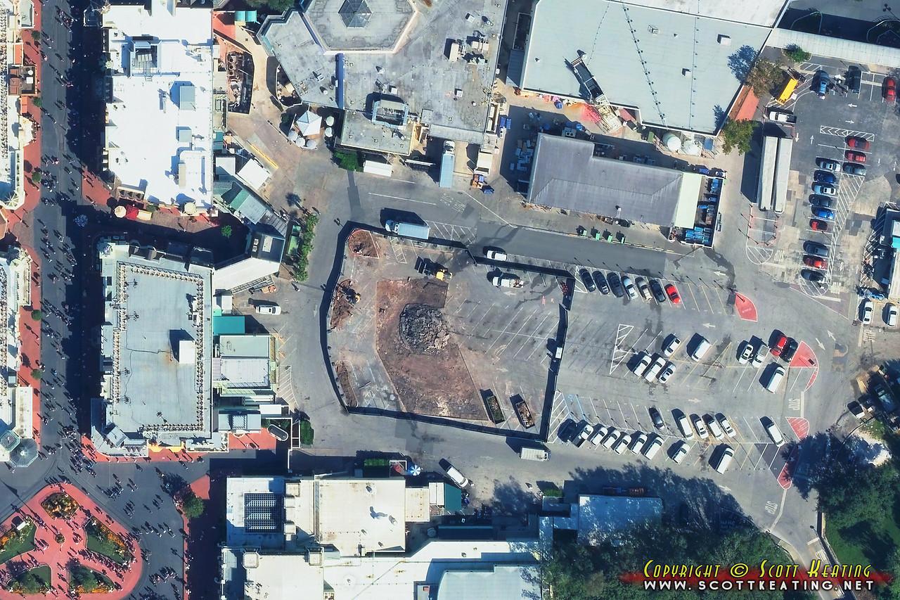 Main Street U.S.A. bypass construction