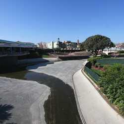 Magic Kingdom hub redevelopment construction