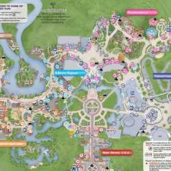 New Magic Kingdom guide map shows new Plaza Gardens