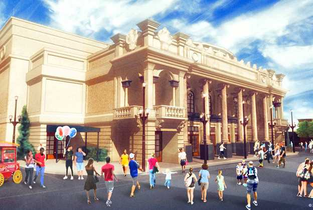 New Main Street U.S.A. theater concept art